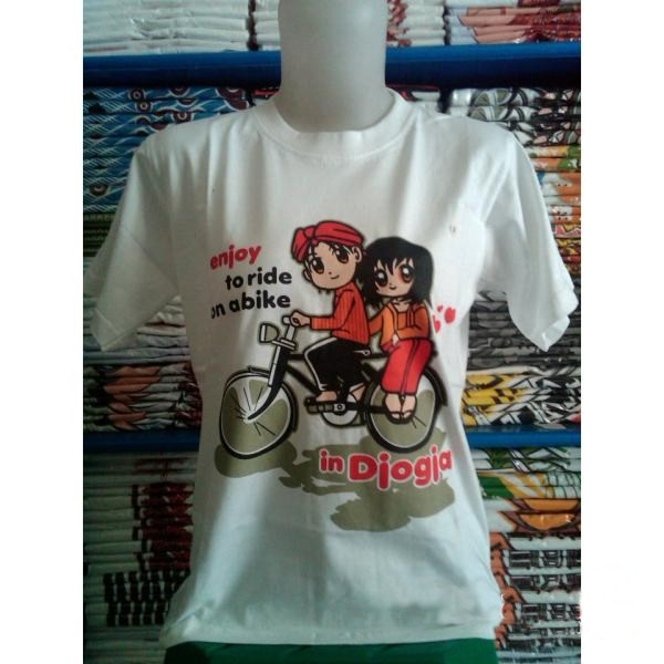Kaos Capung  BAJU KHAS JOGJA  baju khas bali  baju khas